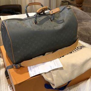 Louis Vuitton Titanium keepall 50 Kim Jones